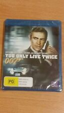 007 James Bond You Only Live Twice Blu Ray New and Region B