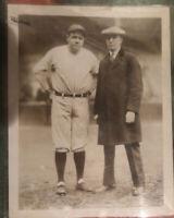 BABE RUTH 1926 Type 1 Sepia-Tone New York Yankees Vintage Original Photograph 🔥