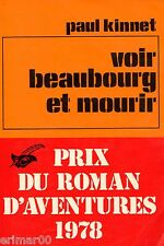Voir Hambourg et mourir / Paul KINNET // Le masque // 1 ère Edition // Primé