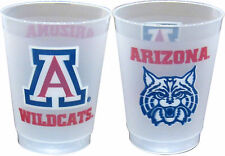 Arizona Wildcats 10 oz. Frosted Cups - 16 per set