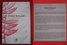 contachanters - Didier Rimaud (contes, poèmes, comptines pour enfants)