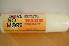 Sore No More Warm Therapy Pain Relief Arthritis 3oz Roll-on (FREE SHIPPING)