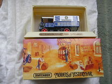 MATCHBOX GREAT BEERS OF THE WORLD:  YGB 12 YORKSHIRE STEAM WAGON -  LOWENBRAU