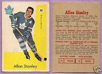 1959-60 Parkhurst Single Allan Stanley Toronto Maple Leafs #44