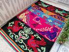 Moroccan Handmade Berber Rug Beni Ourain Vintage Rug Tribal Wool Carpet