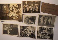 Karlsruhe - Schülerverbindung Cimbria - Fasching 1929-1932 - 7x Foto