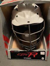 Cascade Cpv-R Boys Youth Lacrosse Helmet White/blk Size S/M Warrior Stx Brine🔥