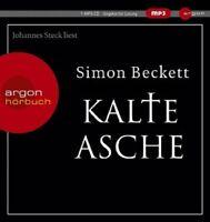 SIMON BECKETT - KALTE ASCHE (SONDERAUSGABE)  MP3 CD HÖRBUCH KRIMI/THRILLER NEU