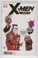 X-Men Gold Issue #1 Marvel Comics (Variant Cover Skottie Young June 2017)