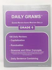 Easy Grammar Daily Grams Grade 6 Teacher's Edition by Wanda C. Phillips