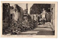 CPA 60 - SENLIS (Oise) - 147. Après le Bombardement (petite animation) - 1914-15