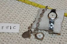 Fossil Women's AM4214 Watch and 1 more Heart Charm Watch  F81/C