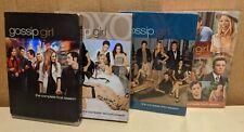 Lot of DVDs Gossip Girl Seasons 1 2 3 4