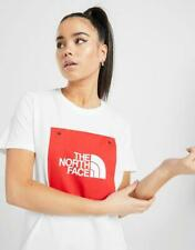 New The North Face Women's Box Logo Boyfriend T-Shirt