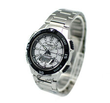-Casio AQS800WD-7E Analog Digital Tough Solar Watch Brand New & 100% Authentic