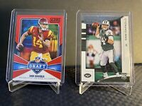 2018 SCORE DRAFT RC SAM DARNOLD NEW YORK JETS #1 - Rookies And Stars Rc -2 Cards