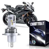 H4 HS1 LED Scheinwerfer Abblendlicht Fernlicht Birnen 6000K 12V für Motorrad ATV
