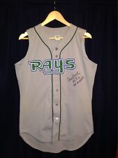 Rocco Baldelli Autographed Tampa Bay Rays Jersey