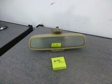 2006-2008 Audi A4 S4 A6 S6 OEM Rear View Mirror Compass + DIM  TAN  #199