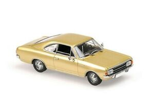 Opel Rekord C in Gold Bj 1966 1:43 Minichamps / Maxichamps 940046120 NEU & OVP