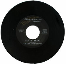 """KEN & The Fourth Dimension  """"ROVIN HEART     60's GARAGE / PUNK   LISTEN!"""