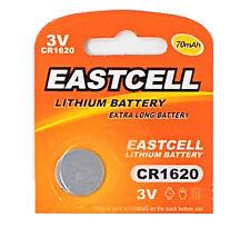 20 x CR1620 3V Lithium Knopfzelle 70 mAh ( 4 Blistercard a 5 Batterien )EASTCELL