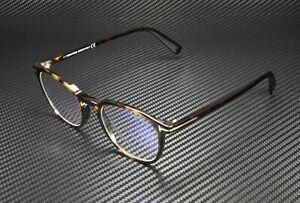 Tom Ford FT5583-B 052 Dark Havana Clear Lens Plastic 50 mm Unisex Eyeglasses