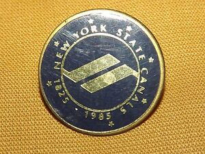 VINTAGE 1825-1985 NEW YORK STATE CANALS PIN