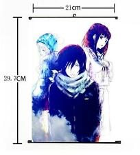 Hot Japan Anime Noragami Yato Yukine Cosplay Home Decor Poster Wall Scroll 004