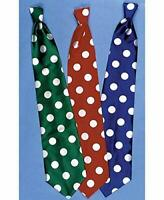 Clown`S Long Tie-Blue W/White