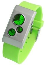 TOKYOFLASH SEAHOPE ELEENO EG5 GREEN LED WATCH, COOL, RARE, FUTURISTIC
