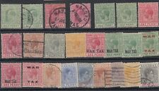 More details for bahamas kevii/kgv/kgvi collection of 24 mh/vfu jk5298