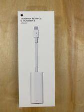 GENUINE Original Apple USB-C 3 to Thunderbolt 2 Adapter MMEL2AM/A A1790 White
