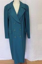 Pendleton Woolen Mills Teal Green Coat Long Dress Jacket Size 12 100% Wool