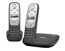 Schwarze Schnurlose Angebotspaket-Sets mit Telefon