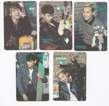 Korea POP KPOP K-POP BIGBANG 5 card SeungRi TaeYang DaeSung G-Dragon Top 41