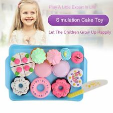 Dessert Cake Food Toy Pretend Play Food Ice Cream Birthday Cake Set Toy Gift kid