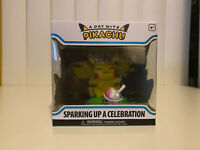 IN HAND * Funko Pop A Day with Pikachu Sparking Up a Celebration Figure