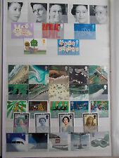 GB Decimal QEII 2002 Complete Commemorative Collection Superb M/N/H - Under Face