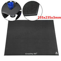 AU 235x235x3mm Glass Heat Bed Plate  For 3D Printer Ender 3 Replacement Parts +