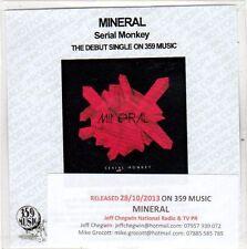 (EO260) Mineral, Serial Monkey - 2013 DJ CD