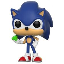 Funko 20147 Pop Vinyl Games Sonic With Emerald Figure