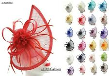 Women's Headband and Clip Teardrop Hat Fascinator Wedding Party Race Royal Ascot