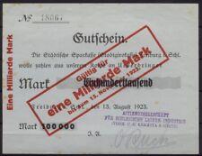 [15748] - Notgeld FREIBURG i. SCHLESIEN (heute: Świebodzice), AG für Schlesische