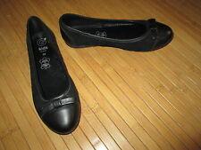 Ballerine noire,en cuir,T34,marque Gémo,NEUVE!