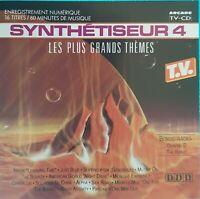 CD SYNTHÉTISEUR 4 LES PLUS GRANDS THÈMES Ref 3740