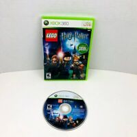 LEGO Harry Potter Years 1-4 Microsoft Xbox 360 Video Game No Manual