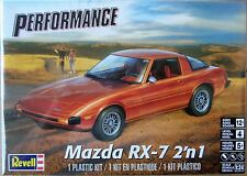 Revell Mazda RX-7, 1/24, New (2017), Factory Sealed Box