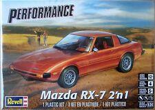 Revell Mazda RX-7, 1/24, New (2017), Factory Sealed Box