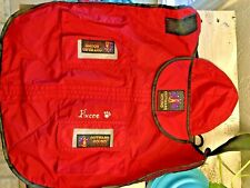 Outward Hound - PET RAIN GEAR -  Dog - SIZE MED-RED- JACKET - EUC!